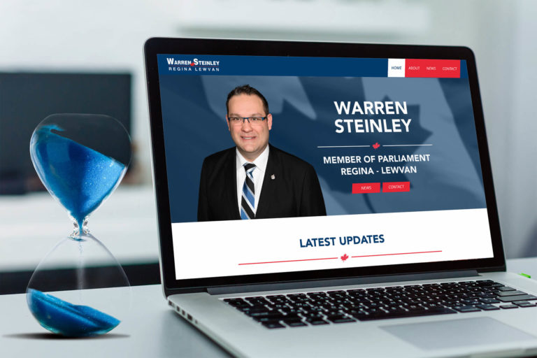 We built a new website or our client Warren Steinley who got elected Member of Parliament in the 2019 election.